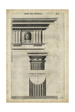 Ancient Architecture I Premium Giclee Print by John Evelyn