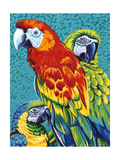 Birds in Paradise III Posters by Carolee Vitaletti