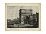 Arco di Tito Premium Giclee Print by Pietro Parboni