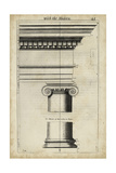 Ancient Architecture VI Poster by John Evelyn