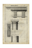 Ancient Architecture VIII Prints by John Evelyn