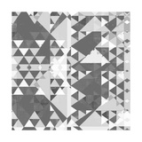 Geometry in Grey II Premium Giclee Print by Amy Lighthall
