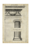 Ancient Architecture III Premium Giclee Print by John Evelyn