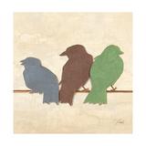 Birds III Premium Giclee Print by Patricia Quintero-Pinto