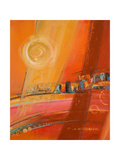 Sky of Many Suns I Premium Giclee Print by Patricia Quintero-Pinto
