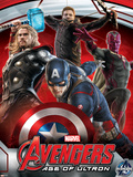 The Avengers: Age of Ultron - Captain America, Thor, Hawkeye and Vision Wall Sign