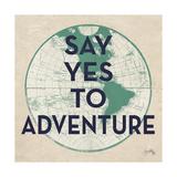 World of Adventure I Giclee-tryk i høj kvalitet af Elizabeth Medley