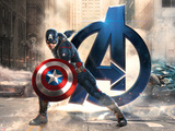 The Avengers: Age of Ultron - Captain America Wall Sign