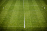 Natural Green Grass Soccer Field Photographic Print by  IvicaNS