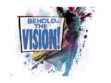 The Avengers: Age of Ultron - Behold the Vision! Metal Print