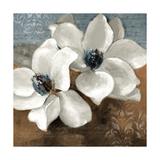 White Magnolias II Giclée-Premiumdruck von Lanie Loreth