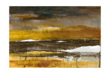 Stratscape in Gold Premium Giclee Print by Lanie Loreth