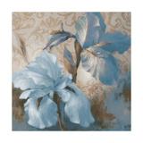 Soft Blue Blooms I Print by Lanie Loreth