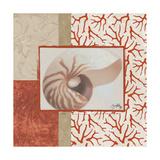 Coral Branch I Giclee Print by Elizabeth Medley