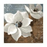White Magnolias I Giclée-Premiumdruck von Lanie Loreth