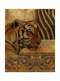 Elegant Safari II (Tiger) Plakater av Patricia Pinto