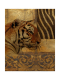 Elegant Safari II (Tiger) Poster von Patricia Pinto