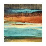 Rustic Sea Square II Giclee Print by Lanie Loreth