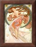 Dance, Art Nouveau Beauty Posters by Alphonse Mucha