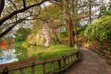 Botanic Garden Walkway Photographic Print by  EvanTravels