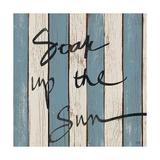 Beach Words I Premium Giclee Print by Elizabeth Medley