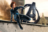 The Avengers: Age of Ultron - Black Widow Plastic Sign