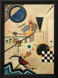 Contrasting Sounds, 1924 Framed Giclee Print by Wassily Kandinsky