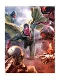 The Avengers: Age of Ultron - Vision Metal Print
