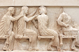 Ancient Greek Temple Frieze Detail, Delhpi, Greece Photographic Print by  Gelia