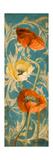 Poppies de Bleu I Posters by Lanie Loreth
