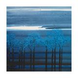 Indigo Forest I Premium Giclee Print