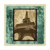 Parisian Trip II Premium Giclee Print by Michael Marcon