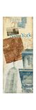 New York Postage Premium Giclee Print by Nicholas Biscardi