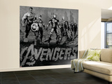 The Avengers: Age of Ultron - Iron Man, Thor, Hulk, Captain America, Hawkeye, Black Widow Wall Mural – Large