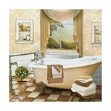 French Bath II Giclee Print by Elizabeth Medley