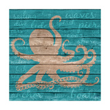 Coastal Wonder Border I Poster by Julie DeRice