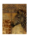 Elegant Safari I (Zebra) Giclee Print by Patricia Pinto