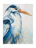 New Blue Heron I Premium Giclee Print by Patricia Quintero-Pinto