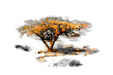 Trees Alive II Prints by Ynon Mabat