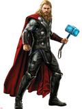 Thor, from The Avengers: Age of Ultron Pancarte matière plastique