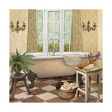 French Bath I Giclee Print by Elizabeth Medley
