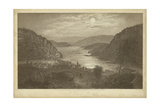 Harper's Ferry by Moonlight Prints by R. Hinshelwood