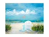 Beach Scene II Premium Giclee Print by Julie DeRice