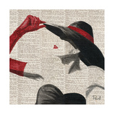 Women of Style Square II Giclee Print