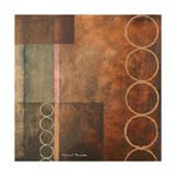 Circles in the Abstract I Posters by Michael Marcon