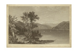Lake George Print by R. Hinshelwood
