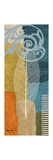 Blue Leaf II Premium Giclee Print by Michael Marcon