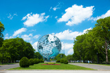 1964 New York World's Fair Unisphere in Flushing Meadows Park Photographic Print by  EvanTravels