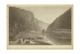 Delaware Water Gap Poster by R. Hinshelwood
