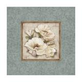 Silversage Flower II Print by Elizabeth Medley